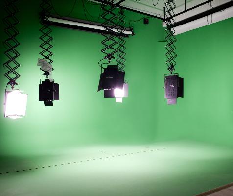 Rainbow CGI | green screen